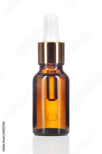 Fotografie, Obraz  Přírodní organické olej na bílém pozadí.