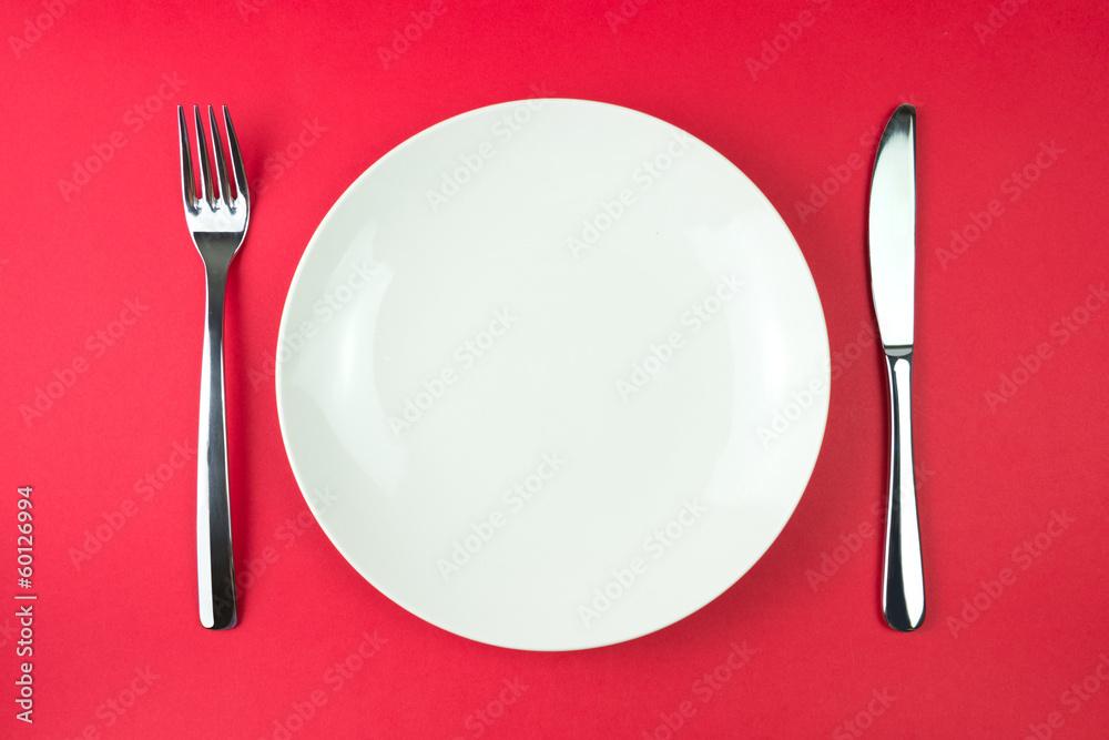 Fotografie, Obraz Dinner plate