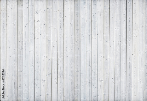 Deurstickers Hout white wood wall