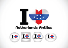 Netherlands Antilles Flag Themes Idea