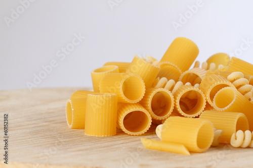 Photo pasta cruda