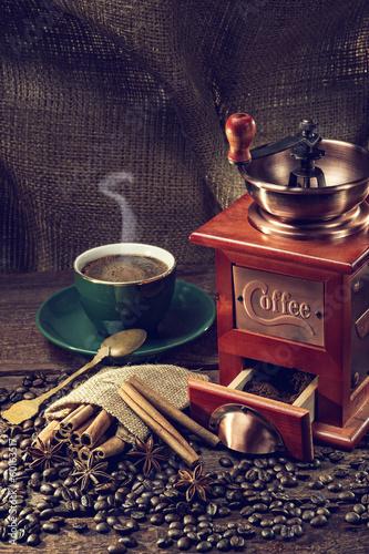 Fotografie, Obraz  coffee grinder
