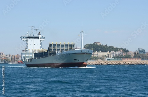 "Photo  Container ship ""Sven"""