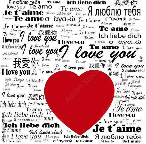 serce-ti-amo-w-zlocie-i-kocham-cie-w-roznych-jezykach