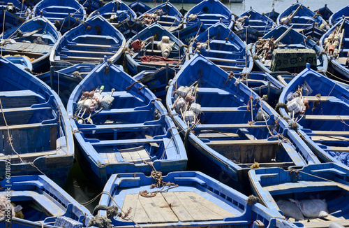 Foto op Canvas Marokko Essaouira - barche