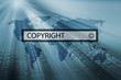 copyright in search bar of search engine