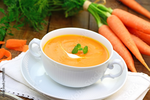 Recess Fitting Appetizer Karottensuppe