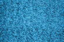 Bright Blue Carpet