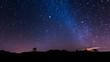 canvas print picture - Nachtlandschaft auf Teneriffa