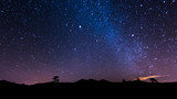 Fototapeta Kosmos - Nachtlandschaft auf Teneriffa