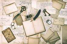 Antique Accessories, Old Lette...