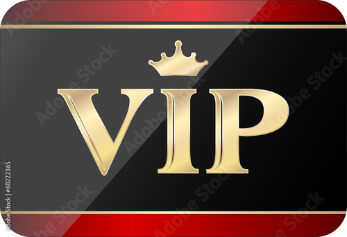 Fotografía  vip gold black gift card, fully editable vector