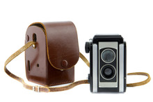 Brownie Camera And Camera Bag