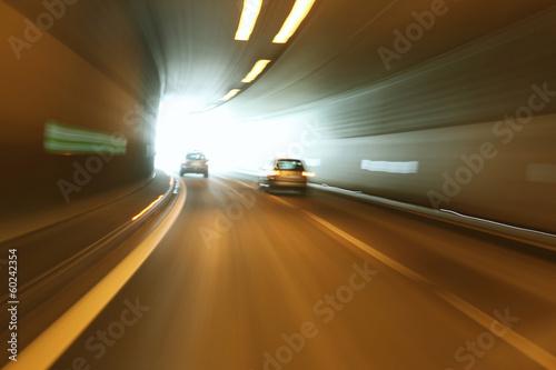 Fotografie, Obraz  Danger tunnel driving
