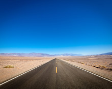 Open Road, Death Valley, Calif...