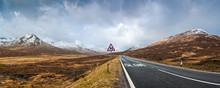 Road To Scottish Highlands