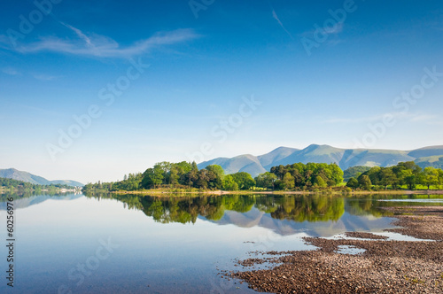 Foto Derwent Water Cumbria, English Lake District, UK.