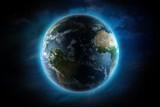 Ilustracja planety ziemii