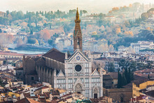 Basilica Of Santa Croce (Basilica Of The Holy Cross), Florence,