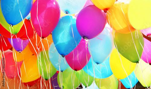 Fotografie, Obraz  bunte Luftballons