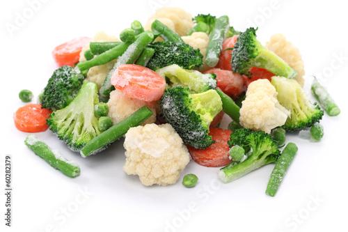Obraz homemade frozen vegetables - fototapety do salonu
