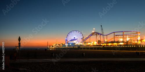 City on the water Santa Monica Pier