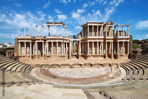 The Roman Theatre (Teatro Romano) at Merida