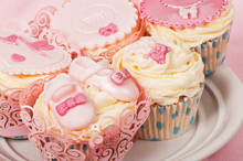 Cupcakes For A Newborn Baby Girl