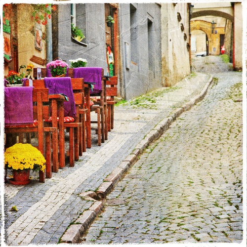 charming old  streets - 60329197