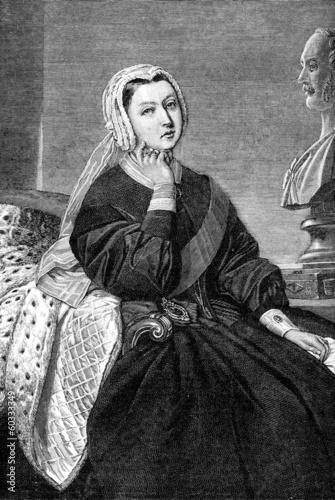 Obraz na plátně Queen Victoria