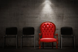 The red armchair - 60335785