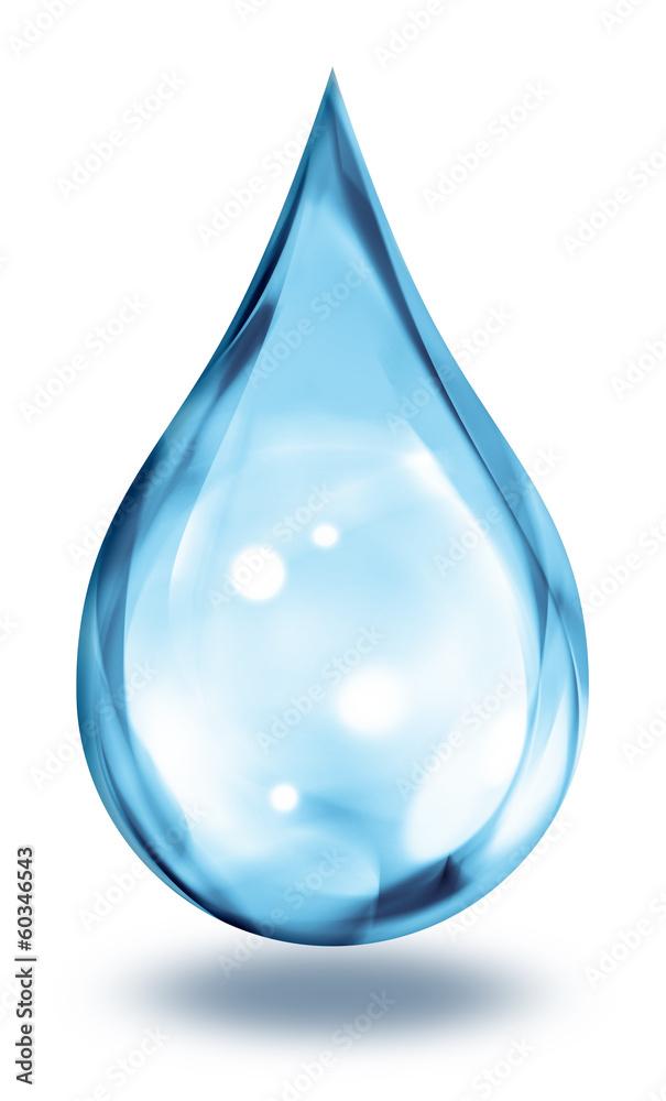 Fototapeta water drop