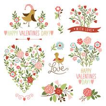 Valentine's Day Graphic Elemen...