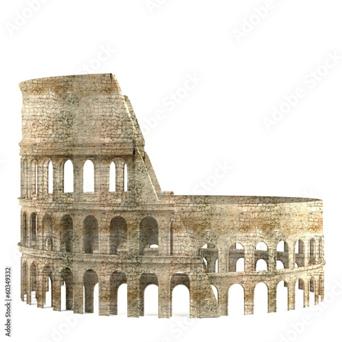 Photo  realistic 3d render of coloseum
