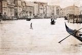 Grafika w stylu retro, Wenecja, Włochy - 60349908