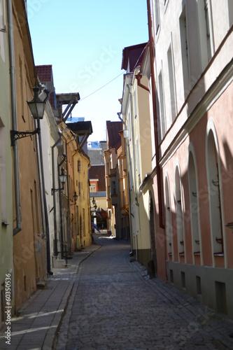 Wall Murals Street in Old Tallinn