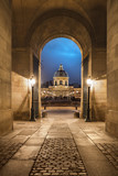 Fototapeta Fototapety Paryż - Institut de France et Pont des arts
