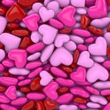 3D - Hearts (II)