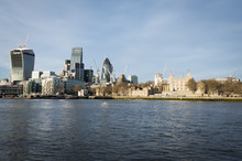 River Thames London UK