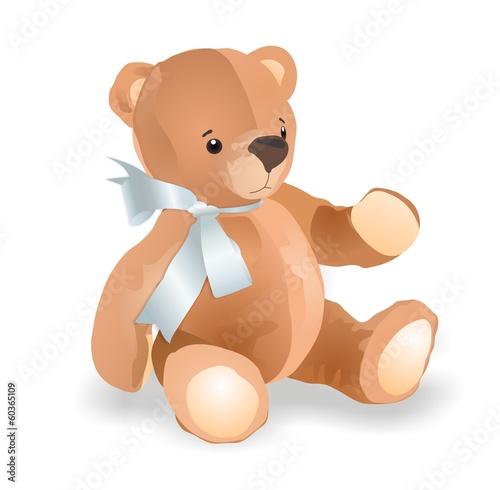 Photo  Toy teddy bear