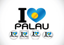 Palau Flag Themes Idea Design