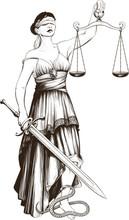 Symbol Of Justice Femida