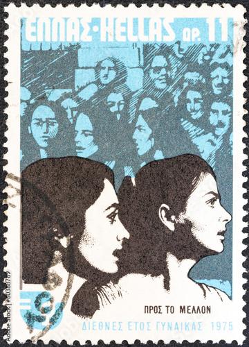 Fotografia  Women looking to the future (Greece 1975)