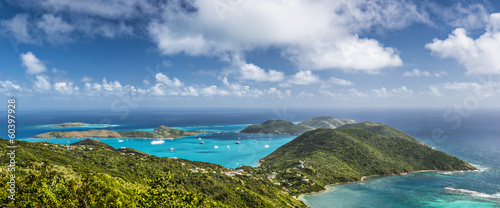 Spoed Foto op Canvas Caraïben Virgin Gorda, British Virgin Islands