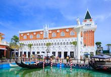 Petchaburi, Thailand - November 9, 2013 : The Venezia Hua Hin