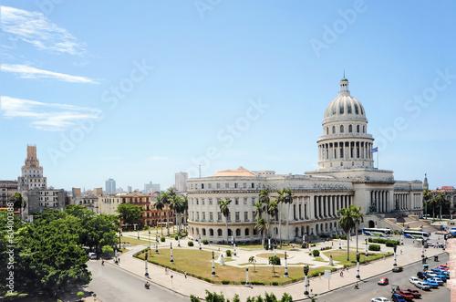 fototapeta na drzwi i meble The Capitol in Havana, Cuba