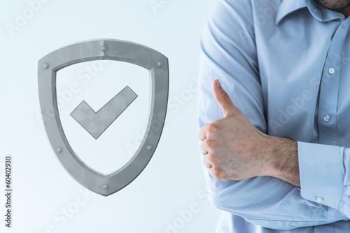 Fotografie, Obraz  shield