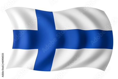 Fotografie, Obraz  Finland flag - Finnish flag