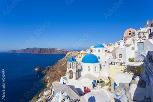 Spoed Foto op Canvas Mediterraans Europa Santorini island, Greece