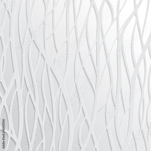 Naklejka na szafę Abstrakcyjne białe fale
